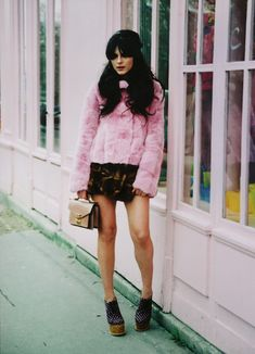 Valley of the Dolls. Louis Vuitton & The Cherry Blossom Girl | Photography by Marie Zucker