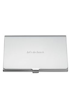 kate spade new york 'let's do lunch' business card holder available at…