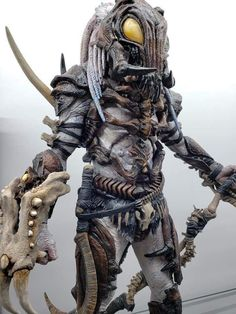 Thanks Chris Wan. Even cooler yet, Neca Figures, Predator Costume, Zombie Monster, Predator Alien, Alien Concept Art, Aliens Movie, Alien Creatures, Xenomorph, Custom Action Figures