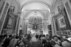 Tuscan wedding church