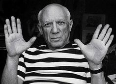 Picasso's hands