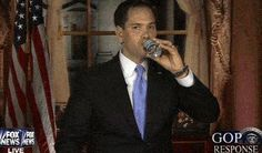 Marco Rubio's Water Bottle Moment Shows Our Political Shallowness.