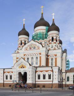 Cathedral de Alejandro Nevsky, Tallin, Estonia