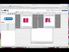 Accordion flip card & file for ScanNCut + few baby cards - YouTube