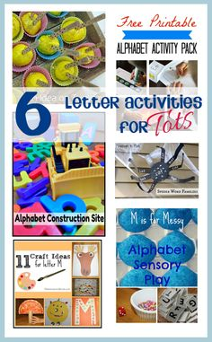 6 ideas for tots to learn letters - Rainy Day Mum