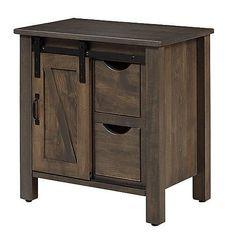 Farmhouse Bedroom Furniture, Amish Furniture, Industrial Night Stand, Oak Nightstand, Bedroom Storage, Wood Species, Locker Storage, Solid Wood, Master Suite