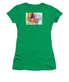 Women's T-Shirt (Junior Cut) - Abstract 9586