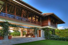 66 Ideas for house architecture mountain interiors Philippine Architecture, Filipino Architecture, Tropical Architecture, Architecture Design, Thai House, Asian House, Modern Tropical House, Tropical House Design, Tropical Houses