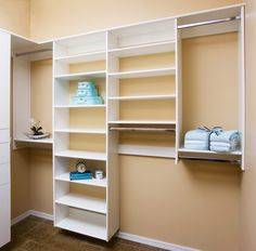 Simple And Sweet Walk In Closet By Classy Closets. To See More Of Our