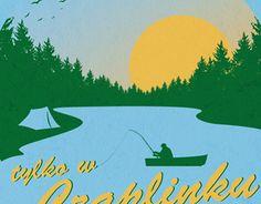 """Check out new work on my @Behance portfolio: """"Tylko w Czaplinku"""" http://be.net/gallery/41536881/Tylko-w-Czaplinku"""