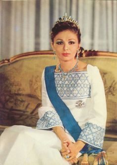 Last queen of Iran Farah Pahlavi (circa 1970's)