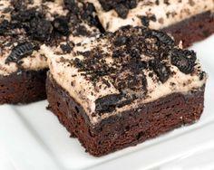 Brownies s oreo krémom