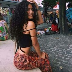 Uhair Indian Virgin Hair Kinky Curly 3 Bundles With Lace Closure Unprocessed Human Hair Curly Hair Styles, Natural Hair Styles, Tumblr Curly Hair, Long Natural Curls, Curly Girl, Tumblr Girls, Virgin Hair, Hair Goals, Hair Inspiration