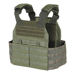 Voodoo Tactical Hayden Plate Carrier w/ Cummerbund and Hydration Carrier (Color: OD Green) Tactical Equipment, Tactical Gear, Plate Carrier Vest, Body Armor Vest, Body Armor Plates, Voodoo Tactical, Assault Pack, Duty Gear