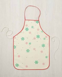 Craft Painting - Holiday Kitchen Textiles for the December Martha Stewart Crafts Mad About Color