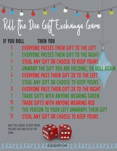Christmas Party Ideas and Games at a dollar amount near the lowest amount. The highest bidder wins this gift. Each person can only win one gift. Good for Hawkins Ideas Miranda Reader Games and Christmas Party Christmas Games To Play, Christmas Gift Exchange Games, Xmas Games, Holiday Party Games, Holiday Parties, Christmas Holidays, Christmas Party Ideas For Teens, Christmas Party Games For Groups, Adult Christmas Party