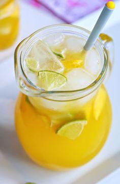 Pineapple Lemonade Cooler by eatwell101 #Beverage #Lemonade #Pineapple