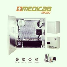 All good things come in small sizes -> MEDICABMICRO #cabinetgrow #homegrowing