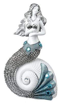 Mermaid Sea Jewel Decor Figurine