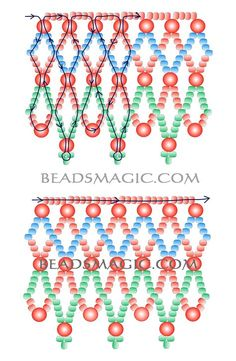 Beaded Jewelry Free pattern for beaded necklace Russo mm - Free pattern for beaded necklace Russo U need: seed beads pearl beads mm Diy Necklace Patterns, Beaded Jewelry Patterns, Beading Patterns, Seed Bead Tutorials, Free Beading Tutorials, Seed Bead Jewelry, Bead Jewellery, Seed Beads, Hama Beads