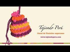Monedero de ganchillo con boquilla redonda - Crochet purse :) Tutorial paso a paso - YouTube