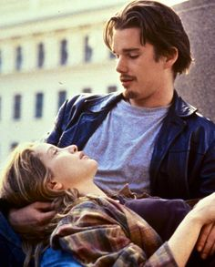 Ethan Hawke & Julie Delpy in Before Sunrise