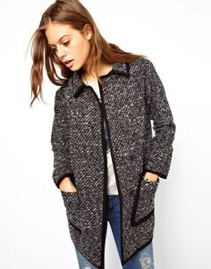 Another fall must - a go-to coat!