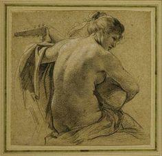 Simon Vouet 1590-1649 - Lute player.