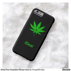 iDeal Fun Cannabis Phone Case Barely There iPhone 6 Case