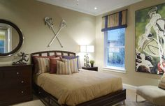 teenage boys sharing a bedroom | ... espresso walnut furnishings for a pre-teen boy interested in lacrosse