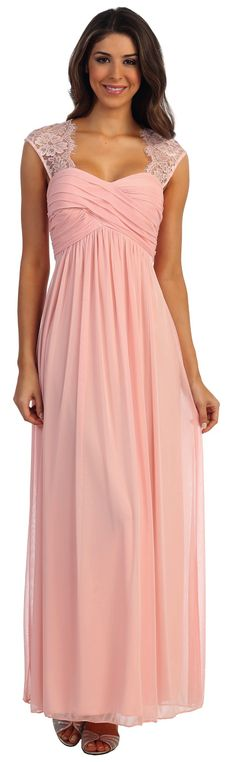 Prom Dresses Evening Dresses under $100<BR>8098<BR>Sweetheart ruched crisscross bodice featuring delicate lace over shoulders and forming keyhole back
