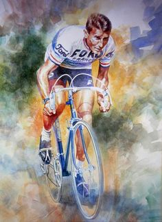 The Time Machine - Jacques Anquetil by Jeremy Mallard.