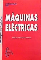 Máquinas eléctricas / Rafael Sanjurjo Navarro