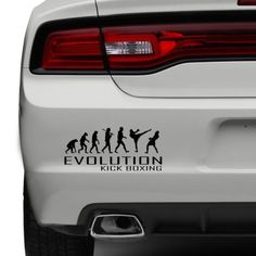 Evolution of kick #boxing car bumper #sticker #boxing #fighting funny vinyl window,  View more on the LINK: 	http://www.zeppy.io/product/gb/2/252384030908/
