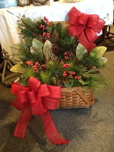 christmas basket going by a fireplace - Christmas Basket Decoration Ideas