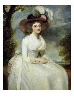 Mrs Thomas Grove, George Romney