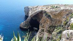 Visite de la Grotte Bleue ou Blue Grotto à Malte.