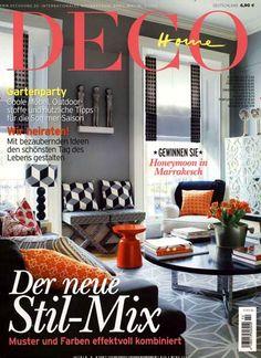 Der neue Stil-Mix - Muster und Farben effektvoll kombiniert. Gefunden in: DECO Home, Nr. 2/2015