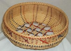 "New Free Basket Patterns | Dimensions: 12"" x 4 ½"" circumference 36"""