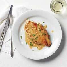 Pan-Seared Chicken Breast with Rich Pan Sauce   MyRecipes.com