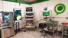 Since now a lot of different people create and try smart houses , but they don't choose to design and develop the most important room … the kitchen . Innit kitchen with headquarters in Redwood Cit...
