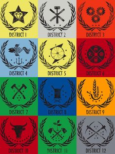 1000+ images about The... Hunger Games Districts Jobs