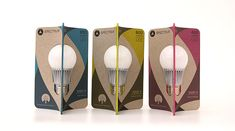 Spectrum LED Lightbulb Packaging on Behance