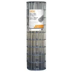 HDX 3 ft. x 50 ft. 14-gauge Galvanized Steel Welded Wire-308301HD - The Home Depot $28.47