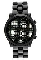 i LOVE this!! defiantly need this on my wrist! Phosphor Appear Black Crystal Watch with Black Nylon Bracelet $225