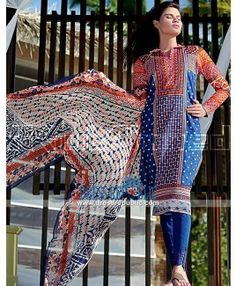 Gul Ahmed Lawn 2015 - Buy Pakistani Designer Suits Online