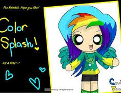 Color splash!by candfloss