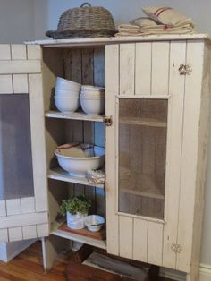 The Apothecary Shop...: Vintage Cupboard Love...