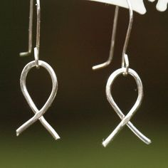 Jesus Fish Earrings Ichthus Fine Silver by MaggieMcManeDesigns, $18.00