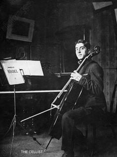 Aram Khachaturyan at Gnesins Musical College, 1924–1925.